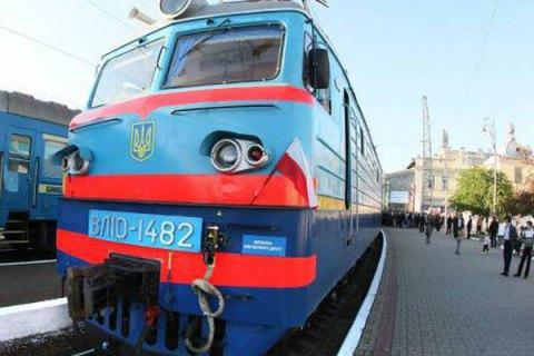 Місцеві жителі перекривали залізницю в Пустомитах