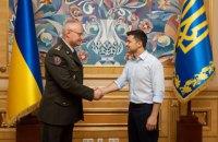 Зеленський звільнив Муженка і призначив начальником Генштабу генерала Хомчака