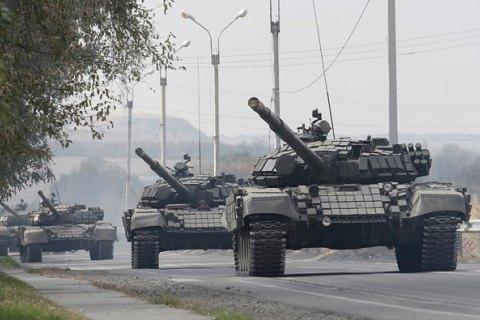 Бойовики розмістили десятки танків та гаубиць біля лінії зіткнення, - ОБСЄ