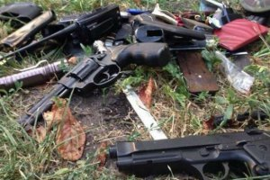 Міліція та СБУ ліквідували склад боєприпасів у Дніпропетровську