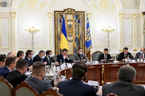 СНБО одобрил законопроект Зеленского о лишении свободы за недостоверное декларирование