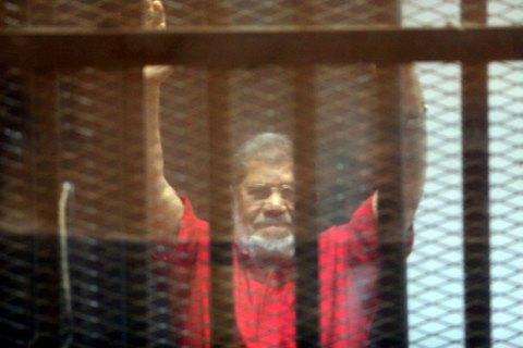 Суд отклонил апелляцию на самый мягкий из приговоров экс-президенту Египта Мурси