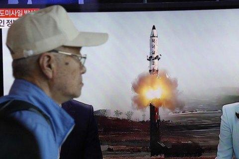 Північна Корея здійснила новий запуск балістичної ракети