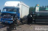 У ДТП під Щастям постраждали 8 осіб