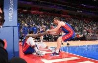 """Баскетболісти """"Детройт Пістонс"""" не змогли вимовити прізвище українця Михайлюка"""