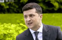 """Зеленський заявив, що хотів захворіти на COVID-19, """"щоб людям було легше"""""""