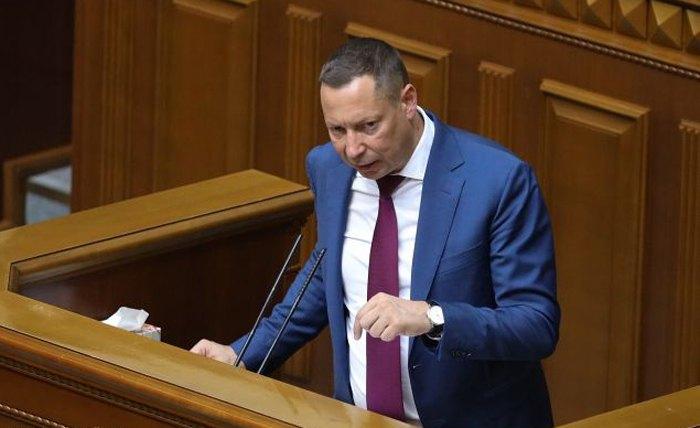 Кирило Шевченко виступає в парламенті, 16 липня 2020