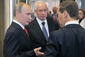 Азаров: РФ согласилась на пересмотр газовых контрактов