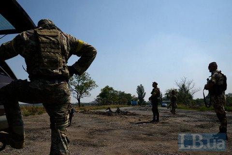 Бойовики 5 разів обстріляли позиції сил АТО в понеділок
