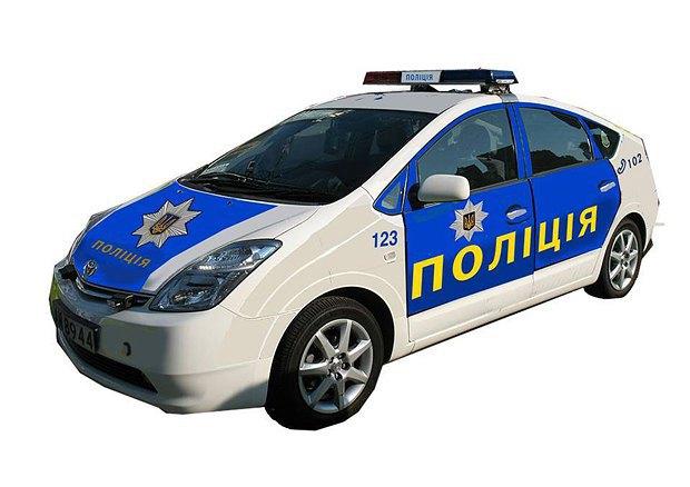 Вариант дизайна машины патрульной службы