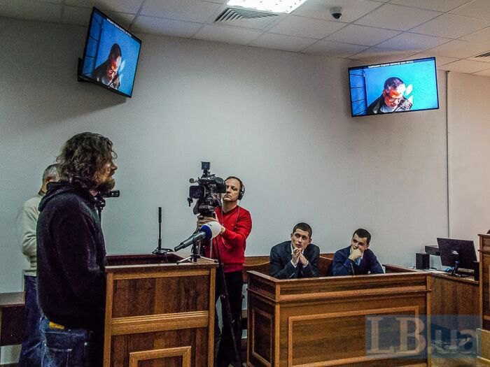 Андрій Гись з прокурорами
