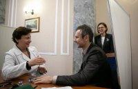Вакарчук зробив щеплення від дифтерії і підписав декларацію із сімейним лікарем