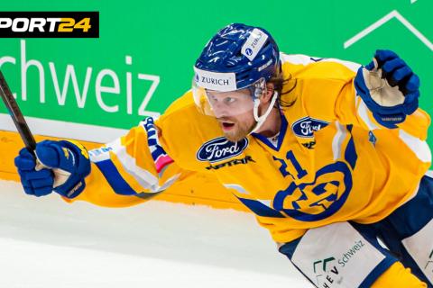 В Швейцарской национальной лиге хоккеист исполнил невероятный буллит