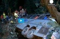 У Непалі автобус зірвався з гори: 13 загиблих