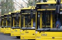Заглохший джип заблокировал троллейбусы на ул. Сечевых Стрельцов в Киеве