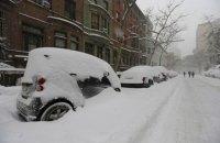 На северо-восток США обрушился снежный шторм, отменены тысячи авиарейсов