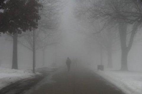 В среду в Киеве дождь и туман, днем до +4 градусов
