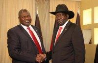 Віцепрезидентом Південного Судану став колишній лідер збройної опозиції