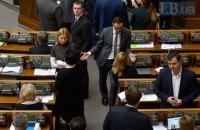 Рада за два дні розглянула 271 з 2082 поправок до мовного законопроекту