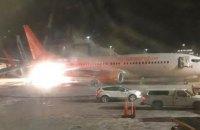 В Канаде в аэропорту столкнулись два самолета, в одном произошел пожар