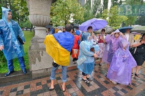 У середу вдень у Києві короткочасний дощ, похолоднішає до +22