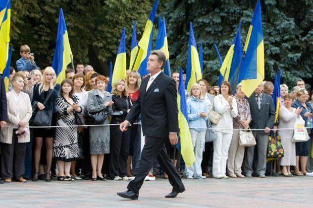 Первые шаги Ющенко подавали большие надежды