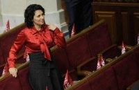 Депутат от «УДАРа» Наталья Агафонова: Левочкина — моя однокурсница. И что с этого?