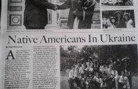 """Встречу Януковича с индейцами разрекламировали в """"Washington times"""""""