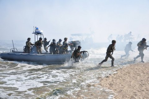 Крымские морпехи наконец попали на фронт