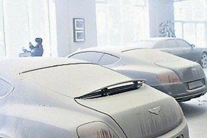 В Киеве пытались ограбить салон Bentley