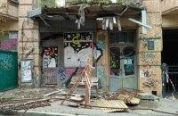 В аварійній садибі Мурашка в центрі Києва обвалився балкон