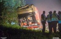 МИД сообщил о 37 госпитализированных и троих погибших в результате аварии автобуса в Польше