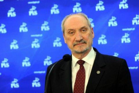 Министр обороны Польши обвинил Россию в подготовке агрессии против НАТО