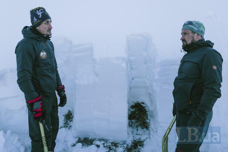 Перевірка лавинної небезпеки на горі Високий Верх