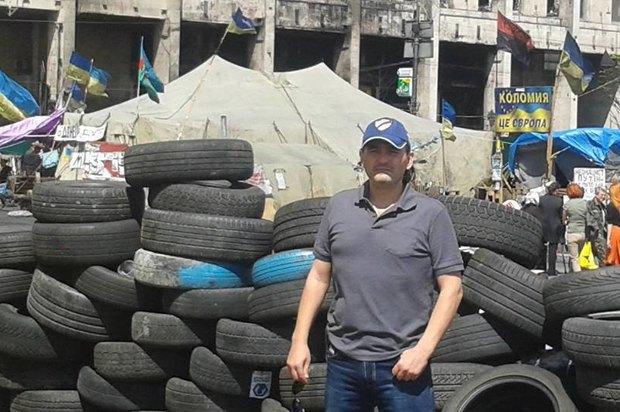 Владимир Бондаренко 13 мая на Майдане