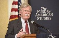 США вирішать питання про розмір військової допомоги Україні найближчим часом, - Болтон