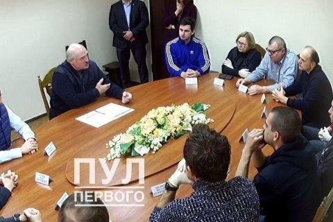 Лукашенко в СИЗО встретился с арестованными оппозиционерами