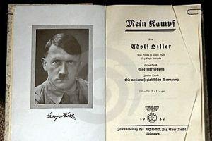 В Германии запретили печатать отрывки из Mein Kampf