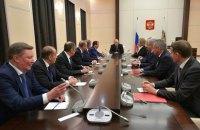 Путин вынес на Совбез РФ вопрос автокефалии украинской церкви