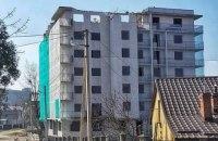 У Львові вперше почали демонтаж незаконної багатоповерхівки