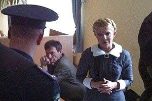 Тимошенко доставили в Печерский райсуд