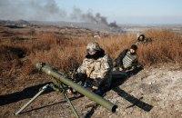 Число обстрелов на Донбассе упало до семи