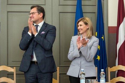 Олена Зеленська ініціювала саміт перших леді та джентльменів у Києві