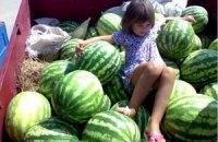 Ціни на українські кавуни побили рекорд