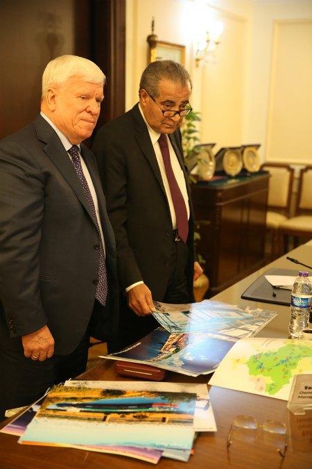 Встреча с министром снабжения и внутренней торговли Египта