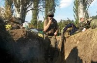 Украинский телеканал показал, как выглядит артобстрел из окопа