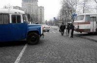 Внутренние войска разблокировали подступы к Майдану