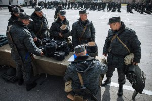 Инспекция обнаружила нехватку зимней одежды у бойцов АТО