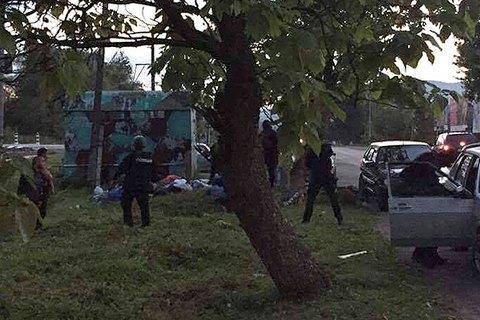 Закарпатська поліція затримала три десятки ромів, які їхали на бійку до Сваляви