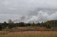 СБУ рассматривает три версии пожара на арсенале под Ичней